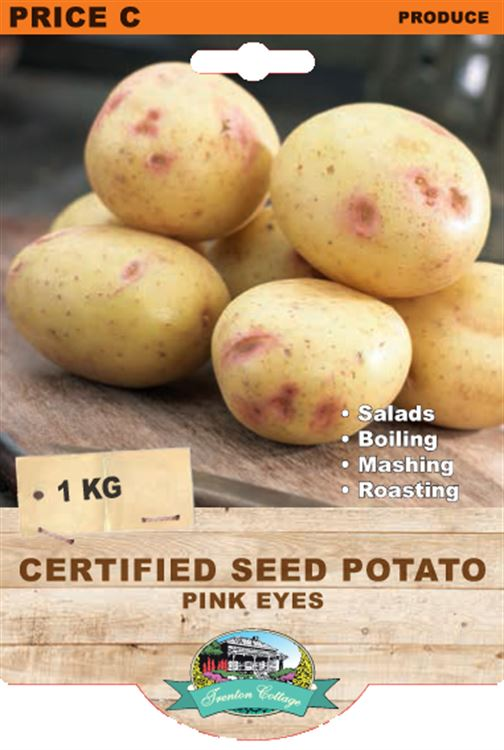 Picture of CERTIFIED SEED POTATO - PINK EYES